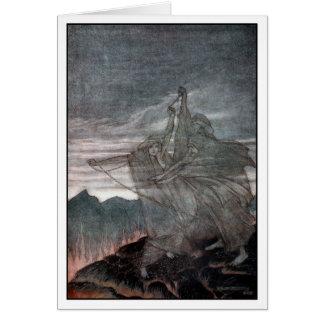 El Norns desaparece Tarjeta De Felicitación