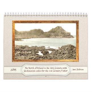 El norte de Irlanda en el 2015 del siglo XIX Calendarios