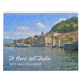 El norte del calendario de Italia, 2015