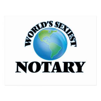 El notario más atractivo del mundo tarjeta postal