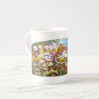 El novato - taza de la porcelana de hueso taza de porcelana