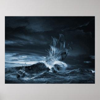 El noveno remake de la onda, ilustraciones póster