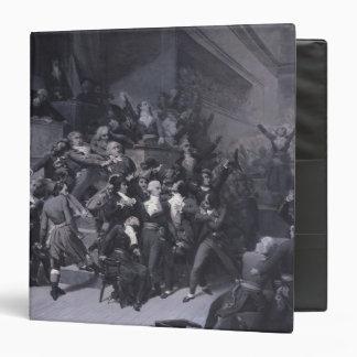 """El noveno Thermidor, c.1840 Carpeta 1 1/2"""""""