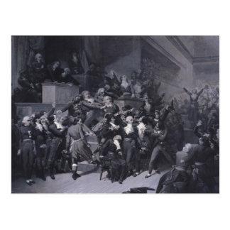 El noveno Thermidor, c.1840 Postales