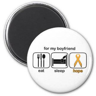 El novio come la esperanza del sueño - leucemia imán redondo 5 cm