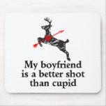 El novio es un mejor tiro que Cupid Alfombrilla De Ratones