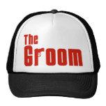 El novio (rojo de la mafia) gorra