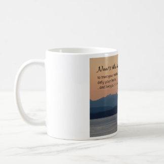 El Now es el tiempo… de motivación Tazas De Café