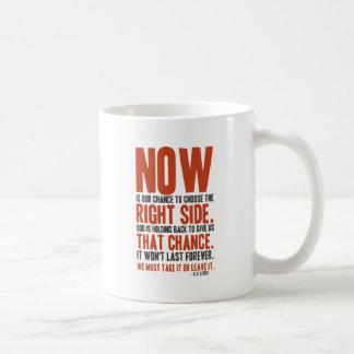 El Now es nuestra ocasión de elegir el derecho Tazas De Café