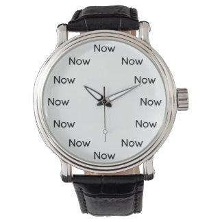El Now es zen - más fácil en los ojos Reloj De Mano