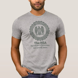 El NSA Camiseta