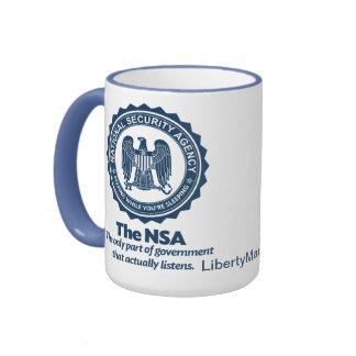El NSA Taza A Dos Colores