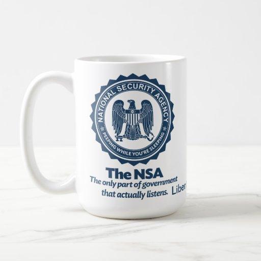 El NSA Taza Clásica