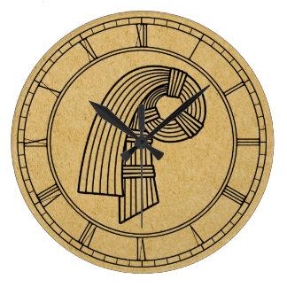 El nudo de Inanna Reloj Redondo Grande