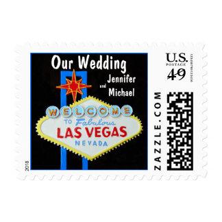 El nuestro casarse de Las Vegas Sello