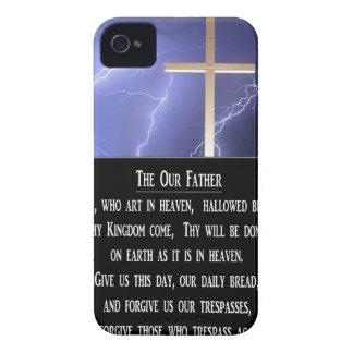 El nuestro rezo del padre Case-Mate iPhone 4 cobertura
