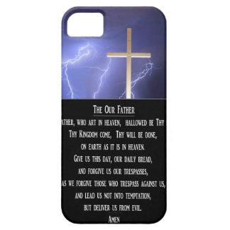 El nuestro rezo del padre iPhone 5 Case-Mate funda