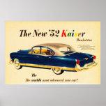 El nuevo '52 poster del coche 3 de Kaiser