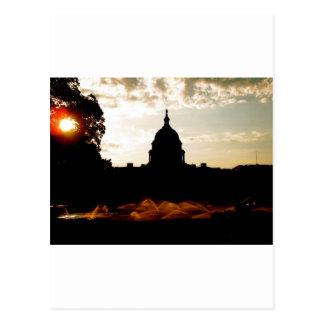 El nuevo amanecer tarjeta postal