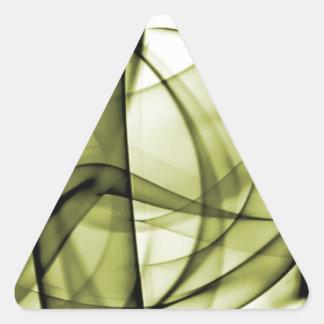 El nuevo arco iris agita la colección - onda amari calcomanía trianguladas personalizadas