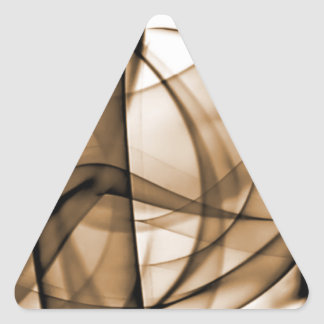 El nuevo arco iris agita la colección - onda de pegatina triangular