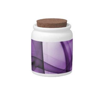 El nuevo arco iris agita la colección - onda púrpu jarras para caramelos