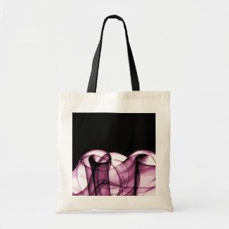 El nuevo arco iris agita la colección - onda rosad bolsa de mano