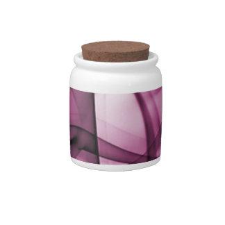 El nuevo arco iris agita la colección - onda rosad jarras para caramelos