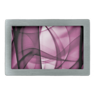 El nuevo arco iris agita la colección - onda rosad hebilla cinturón rectangular