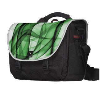 El nuevo arco iris agita la colección - onda verde bolsa de ordenador