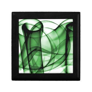 El nuevo arco iris agita la colección - onda verde cajas de joyas