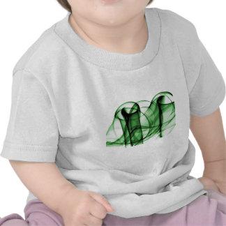 El nuevo arco iris agita la colección - onda verde camiseta