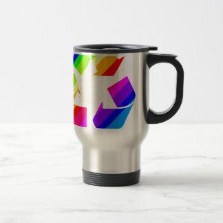 El nuevo arco iris recicla taza térmica