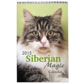 El nuevo calendario de la magia de 2015 siberianos