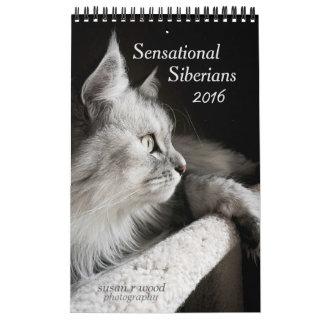 El nuevo calendario siberiano sensacional de 2016