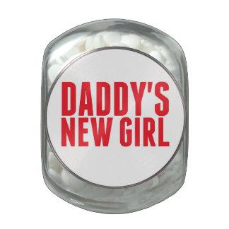 El nuevo chica del papá jarrones cristal