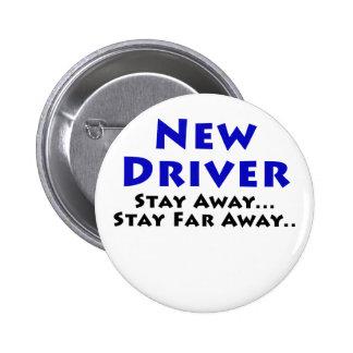 El nuevo conductor permanece lejos estancia lejos chapa redonda 5 cm