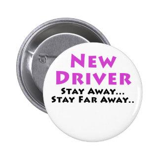 El nuevo conductor permanece lejos estancia lejos pin redondo 5 cm