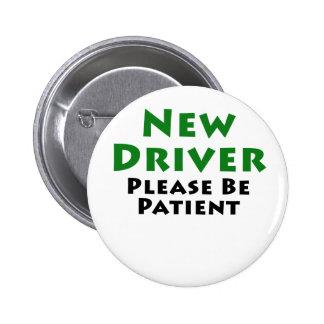 El nuevo conductor sea por favor paciente chapa redonda 5 cm