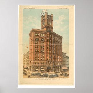 El nuevo edificio de San Francisco Chronicle (1476 Póster