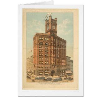 El nuevo edificio de San Francisco Chronicle (1476 Tarjetón