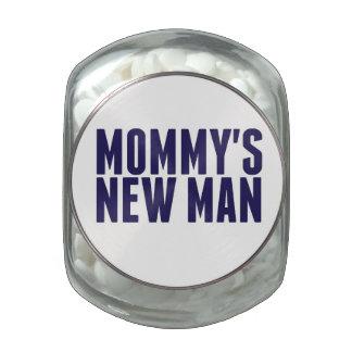 El nuevo hombre de la mamá frascos de cristal
