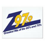 El nuevo logotipo Z979 Invitación 10,8 X 13,9 Cm