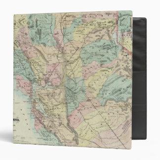 """El nuevo mapa de Bancroft de California central Carpeta 1 1/2"""""""