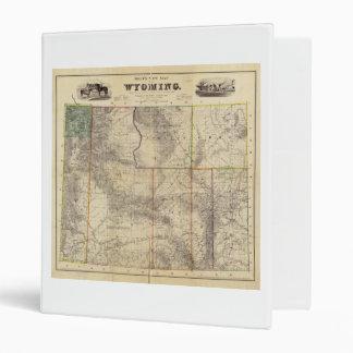"""El nuevo mapa de Holt de Wyoming (1883) Carpeta 1"""""""