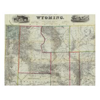 El nuevo mapa de Holt, Wyoming Cuadro