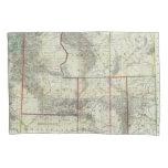 El nuevo mapa de Holt, Wyoming Funda De Cojín