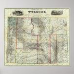 El nuevo mapa de Holt, Wyoming Póster