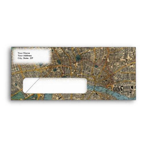 El nuevo mapa de Smith de Londres 1860