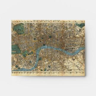 El nuevo mapa de Smith de Londres 1860 Sobre